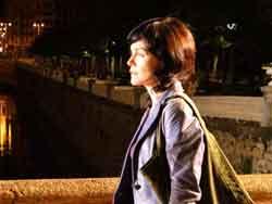 Nagore Aranburu en una escena del telefilme 'Zeru Horiek', producido para TVE  (foto euskonews)