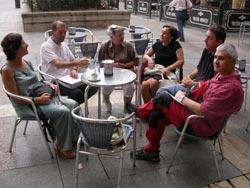 Miembros de la asociación Antzinako