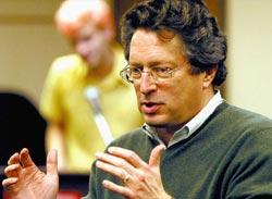 El vascoamericano John Etchemendy, rector de la Universidad de Stanford (foto D.Betchel)
