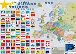 Europako nazio eta minoritateen mapa