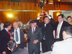 Rolando Biasco eta José María Macchi izan ziren iazko Nazioarteko Mus Txapelketaren irabazleak  (argazkia M.Arrechea)