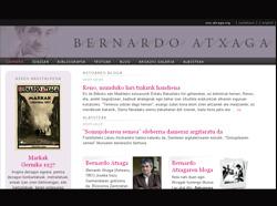 Bernado Atxagaren blogaren azala
