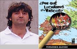 Egilea, Fernando Alonso, eta bere liburua. Bihar aurkeztuko da Rosarioko Euskal Etxean.