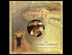 Portada del disco de los Brothers Bidondo, 'The Homecoming', con un paisaje vasco de fondo