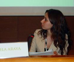 Rubila Araya Ariztia (foto EuskalKultura.com)