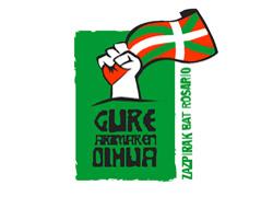 Joan den urtean Rosarion egin zen Euskal Aste Nazionalaren logotipoa, orduan 'Gure arimaren oihua - Zazpirak Bat, Rosario' esaldiarekin