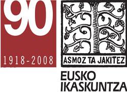 Logo de Eusko Ikaskuntza-Sociedad de Estudios Vascos