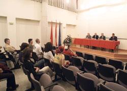 """2002-03ko """"Da Vinci"""" Programa egin zuten ikasle nafarrak diploma jasotzen"""