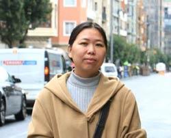 Xiao Fang, que reside desde hace 7 años en Bilbao, valora la importancia de la familia (foto LA Gómez)