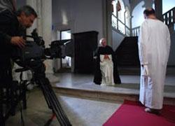 """Una de las secuencias del cortometraje vasco """"El vecino afectuoso"""" (foto Kreared.com)"""