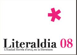 Literaldia08-ko afitxa