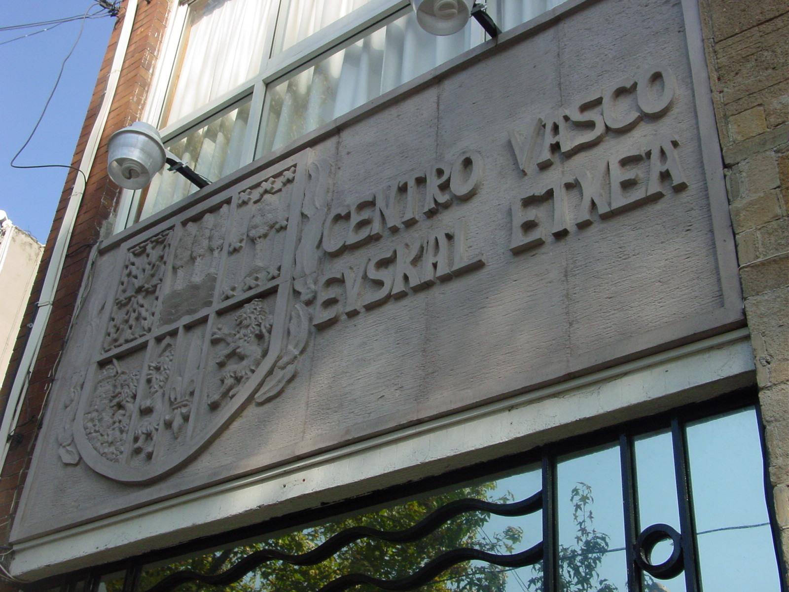 Headquarters of the Mexico DF Basque Club (photo EuskalKultura.com)