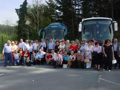 Trip of Basque Clubs of Spain to Azpeitia, Basque Country (photo EuskalKultura.com)