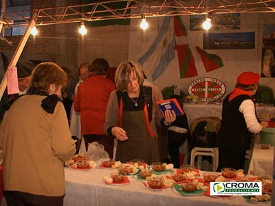 Basque stand at a local fair in Coronel Pringles (photo Croma)