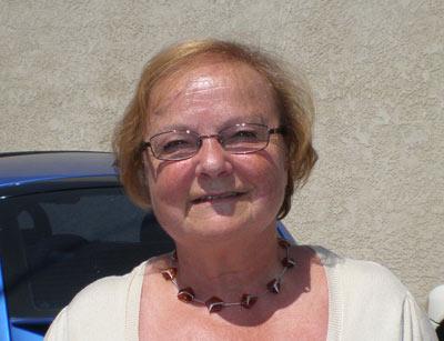 Elena Sommer, president of the Vancouver Zazpiak Bat (photo EuskalKultura.com)