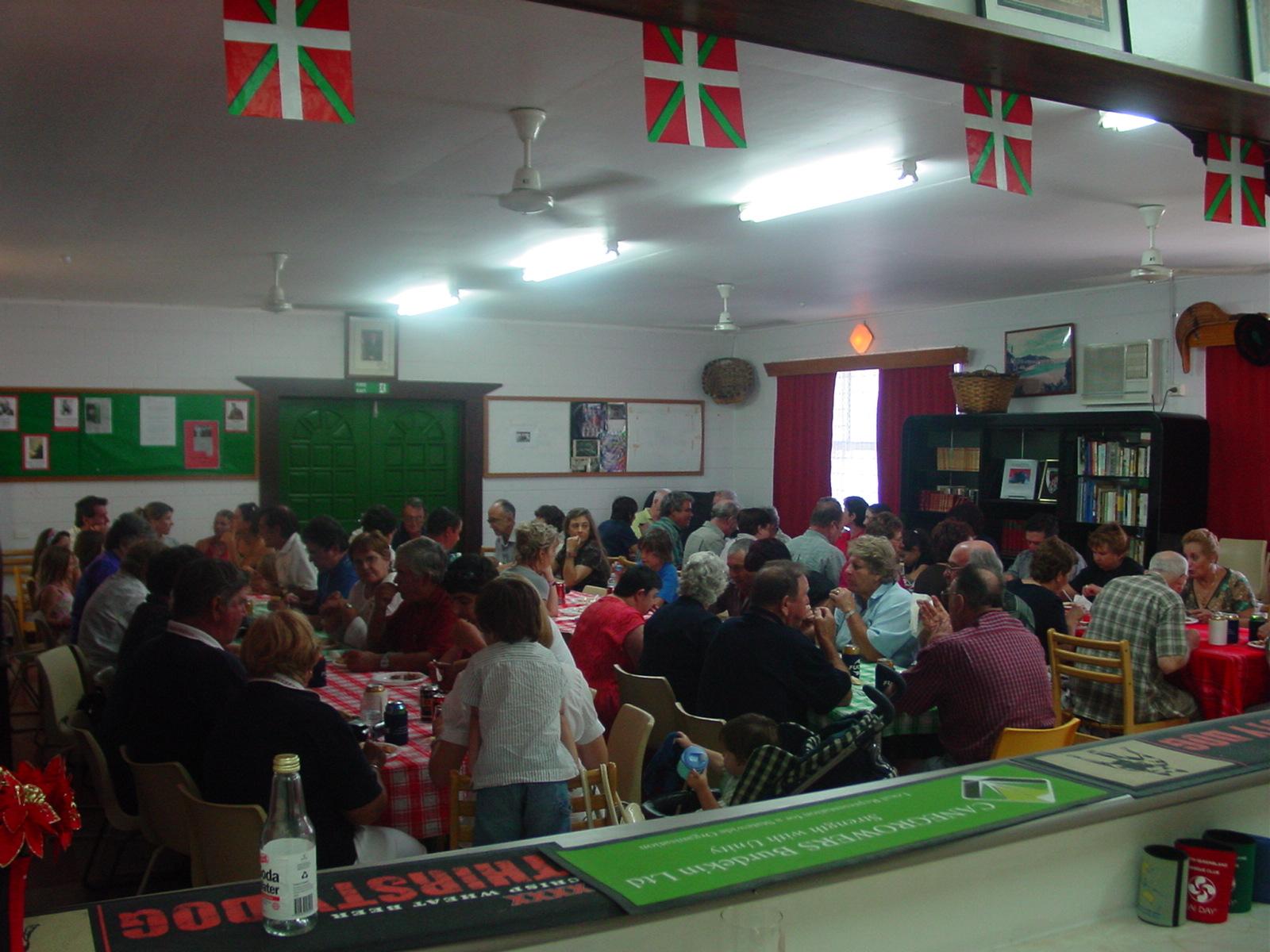 Celebración en la sede de Euskal Etxea de Townsville (foto EuskalKultura.com)