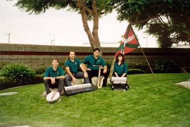 Chinoko (Kalifornia) Mendiko Haurrak musika taldea
