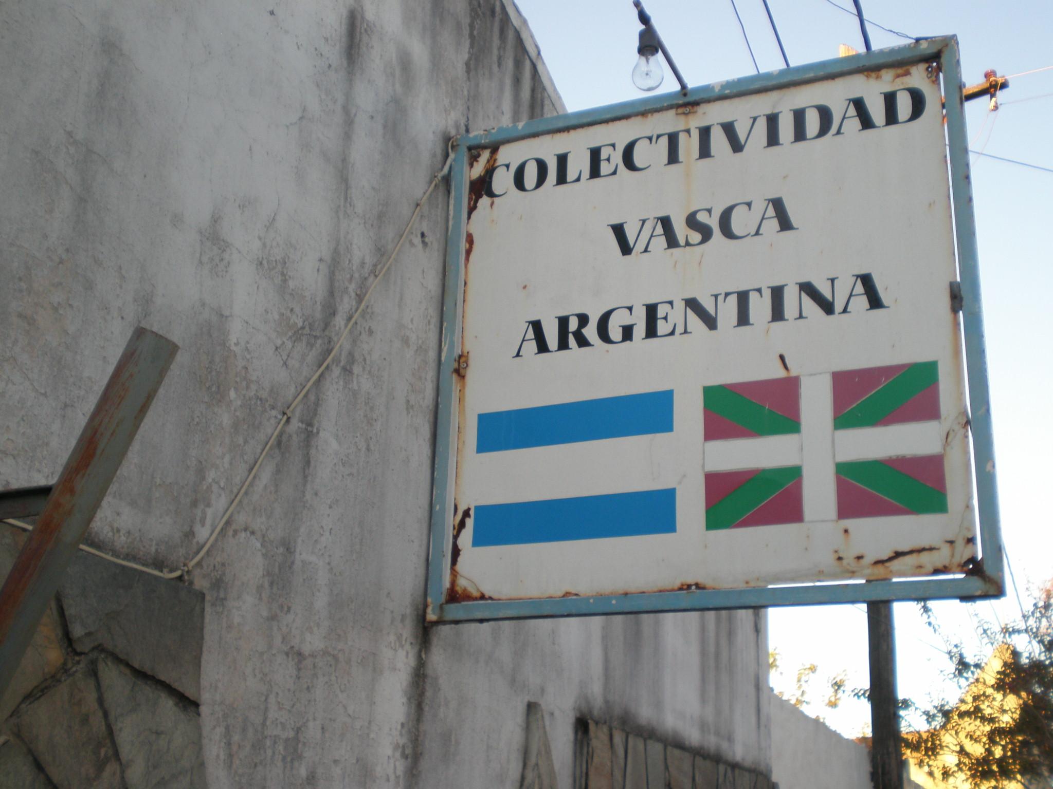 Concordia Basque Club exterior sign