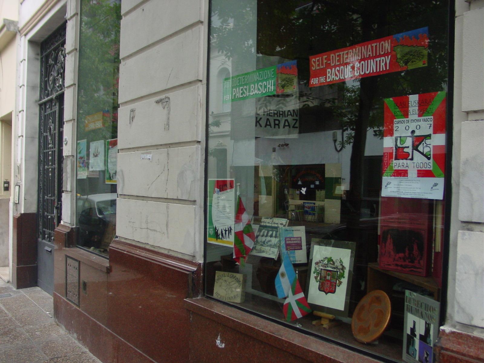 Buenos Aireseko Eusketxeren egoitza (arg. EuskalKultura.com)
