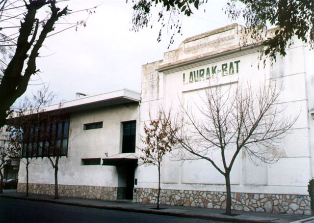 Union Vasca building in Bahia Blanca