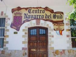 Argentinako Centro Navarro del Sud delakoko azkeneko obrak bukatu aurreko argazkia (argazkia EuskalKultura.com)