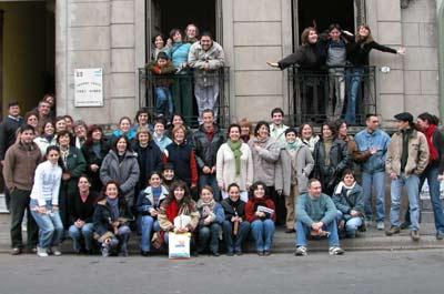 Imagen de archivo de un barnetegi organizado por HABE, FEVA y el Centro Vasco 'Ibai Guren' en la ciudad argentina de Paraná