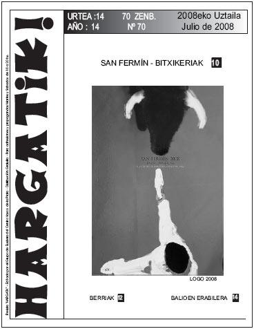 La Platako Hargatik! aldizkariaren 70. zenbakia