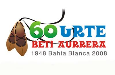 Logo diseñado para conmemorar el 60 aniversario bahiense