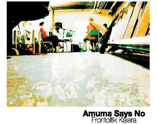 Amuma Says No taldearen lehen CDa, 'Frontoitik kalera'