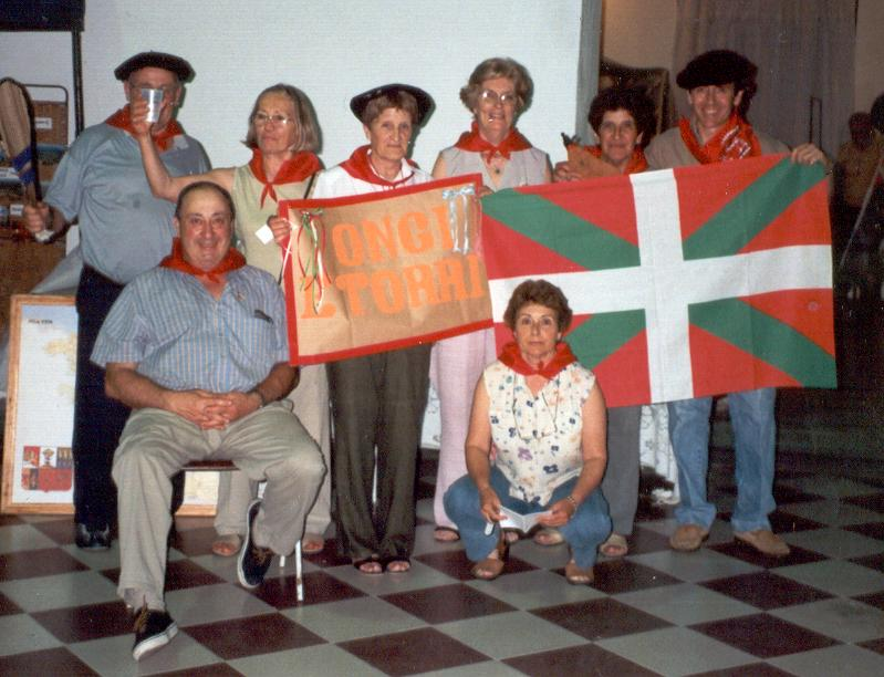 Group of Basques of General Las Heras, in the Argentinean province of Buenos Aires