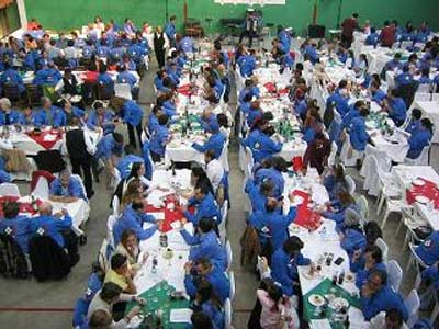 2005 edition of the VascosMexico annual party at the Mexico City Basque Center (photo VascosMexico)