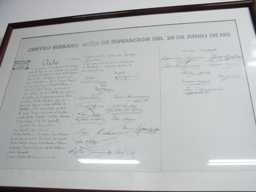 The Euskaro Basque Club of Montevideo is about to be one hundred years old (photo EuskalKultura.com)