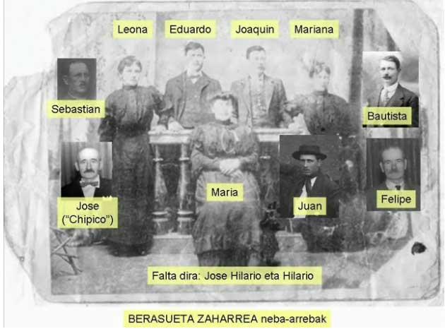 Los hermanos vasco-argentinos Berasueta-Zaharrea, nacidos en Balcarce, en la provincia argentina de Buenos Aires (foto Oier Gorosabel)