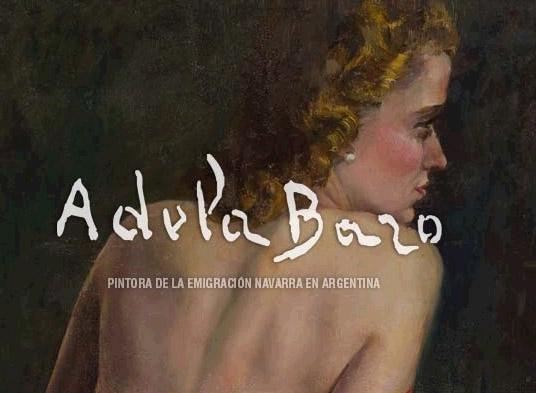 Adela Bazoren lanari buruzko webgunearen portada