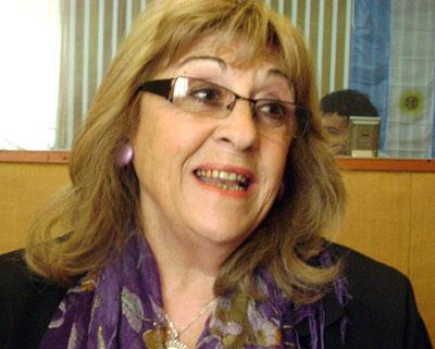 Juana Isabel Errazquin ha pasado a ser vicepresidenta del CV 'Denak Elkarrekin' de Coronel Dorrego.