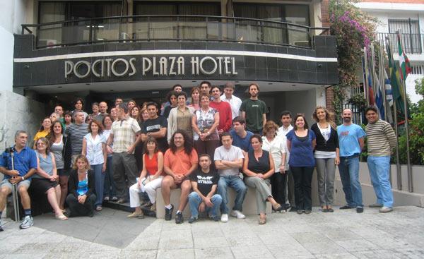 Imagen del barnetegi del pasado enero, en Montevideo.