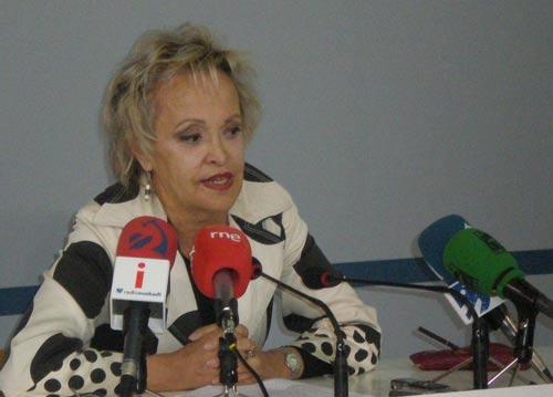 Elvira Kortajarena Iturriotz, Euskadiren Ordezkaria Argentinan (argazkia EuskalKultura.com)