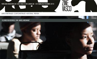 'Flores silvestres', del iruindarra Mikel Ardanaz y rodada en Maputo, es uno de los largometrajes que participan en la muestra caraqueña