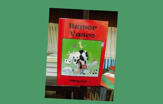Carlos Garaycochearen 'Humor Vasco' liburuaren azala
