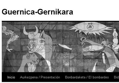 Guernica Gernikara webguneko irudia