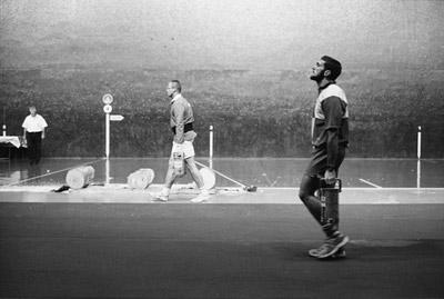 """""""Txinga eramatea"""" da 2011 Prix de la Photographie lehiaketan Amateur Kirola ataleko Urrezko saria jaso duen irudia (argazkia JAAlcayagaIII)"""