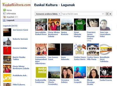 Makina bat lagun ditu jada EuskalKultura.com-ek Facebook-en: 3.000tik gora! Milesker hor zaudeten guztioi