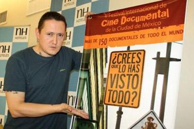 Muguruza also participated in the last edition of Mexico's DOCS DF (photo www.muguruzafm.com)