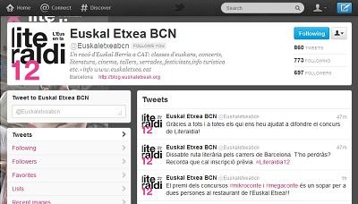 Bartzelonako Euskal Etxearen Twitter-a izan da abiapuntua, ipuinak sarean dantzan dira dagoeneko.