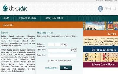 Dokuklik's front page