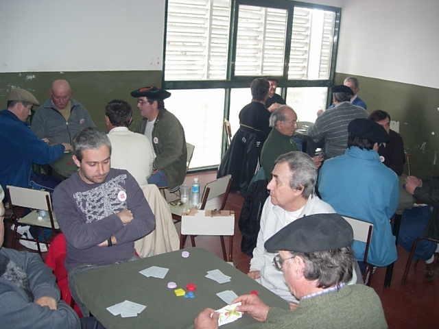 Buenos Aires probintziako Ayacuchon burutu zen Argentinako 2007ko Mus Txapelketa Nazionaleko irudia (argazkia Pedro D. Oillataguerre)