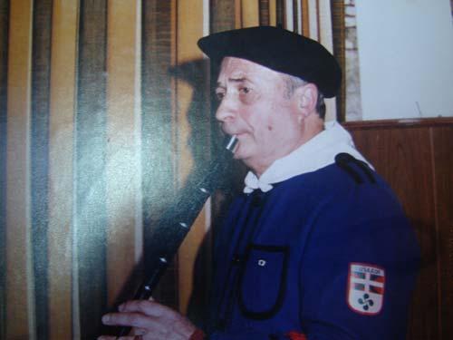 Adalberto Pedro Loyola Zubeldia, 'Potxolo', txistulari arrecifestarra (argazkiaEE)