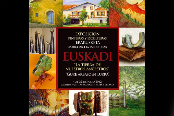 Euskadi 'La Tierra de Nuestros Ancestros-Gure Arbasoen Lurra' Wulff Gazteluan ikus daiteke Viña del Mar-en