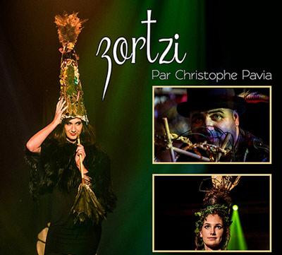 """Zortzi"" show poster"