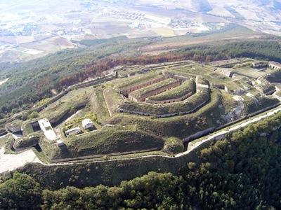 San Cristobal gotorlekua, Ezkaban (argazkia Iñaki Sagredo)